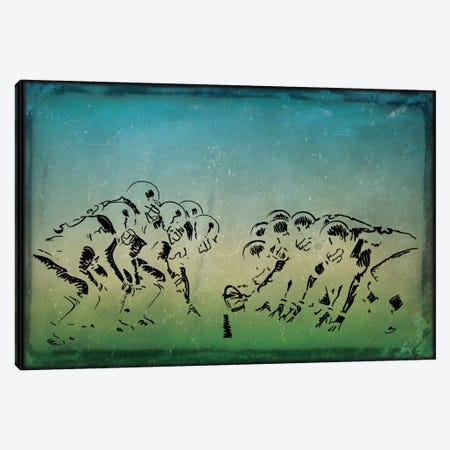 GridIron Canvas Print #POG3} by 5by5collective Canvas Wall Art
