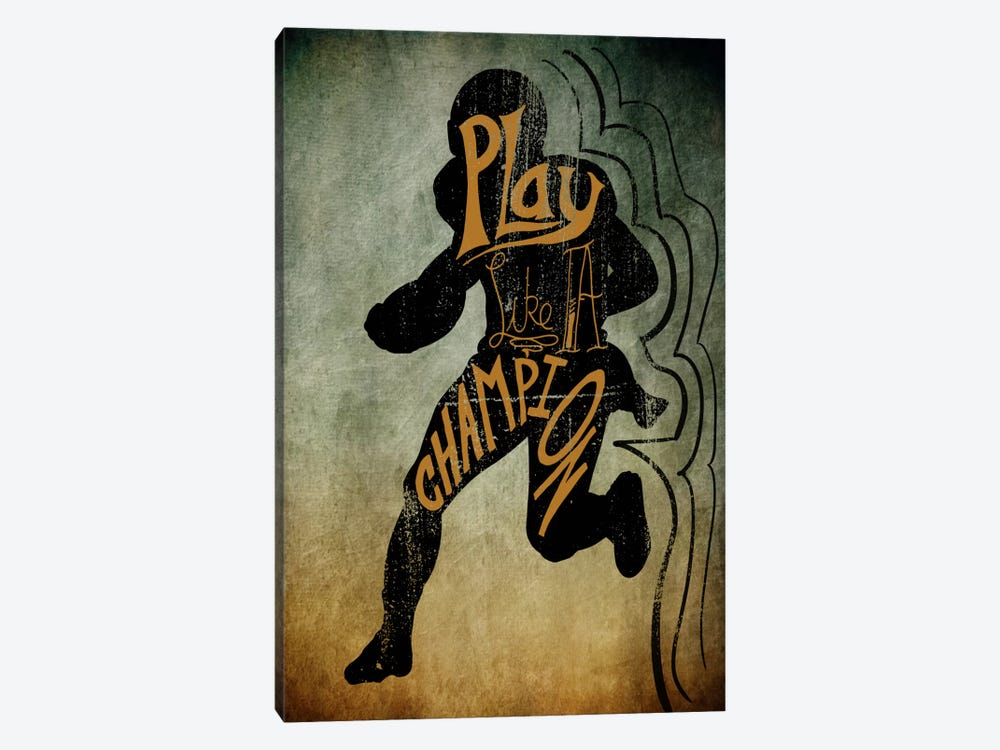 Play like a Champion by 5by5collective 1-piece Art Print