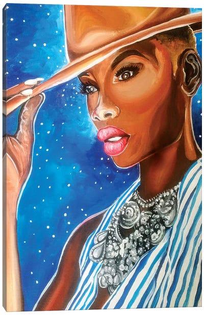 Fashionista Canvas Art Print