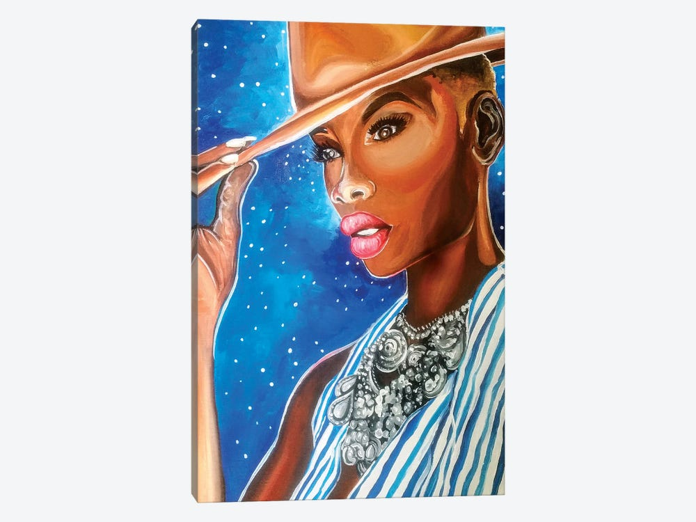 Fashionista by Poetically Illustrated 1-piece Canvas Print