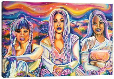 Unpretty Canvas Art Print