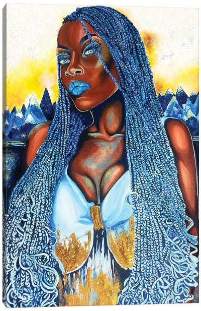 Yemaya Canvas Art Print
