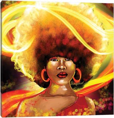 She Is Fire Canvas Art Print