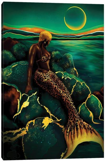 Emerald Sea Canvas Art Print