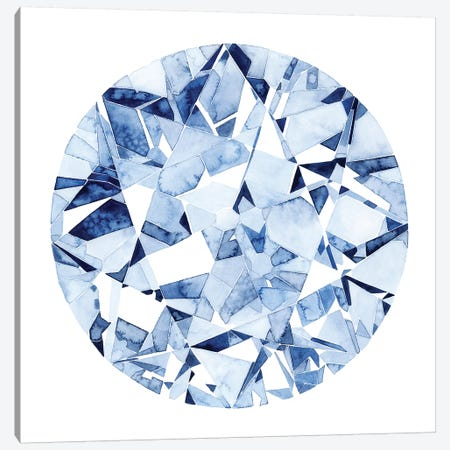 Diamond Drops II Canvas Print #POP1007} by Grace Popp Canvas Wall Art