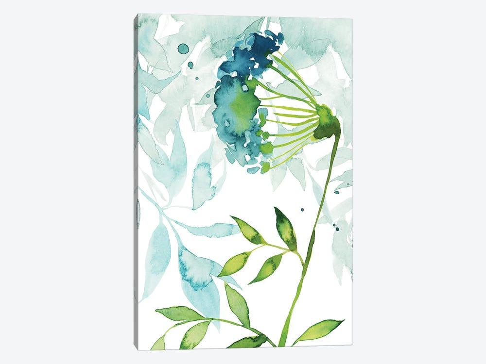 Flower & Leaf Layers I by Grace Popp 1-piece Canvas Art