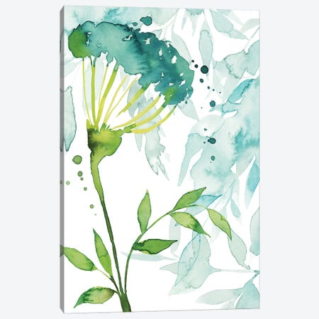 Flower & Leaf Layers II Canvas Print #POP1015} by Grace Popp Art Print