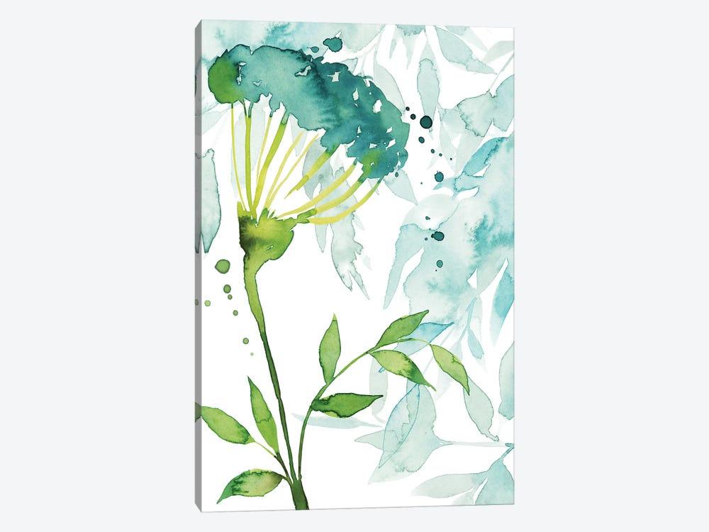 Flower & Leaf Layers II by Grace Popp 1-piece Canvas Print