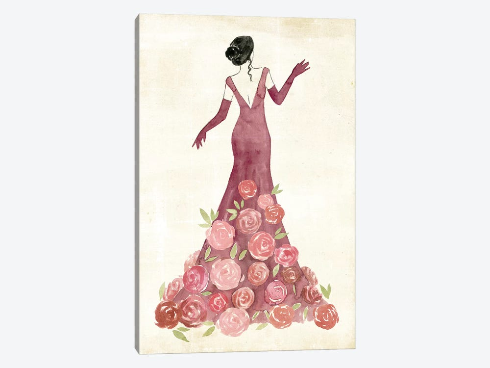 Garland Gown II by Grace Popp 1-piece Canvas Art Print