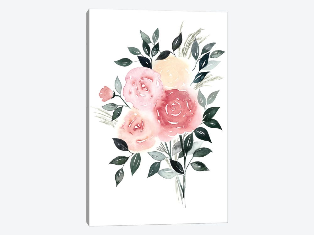 Rosewater I by Grace Popp 1-piece Canvas Art