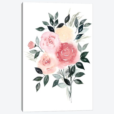 Rosewater I Canvas Print #POP103} by Grace Popp Canvas Print