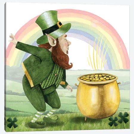Leprechaun's Rainbow II Canvas Print #POP1042} by Grace Popp Canvas Print