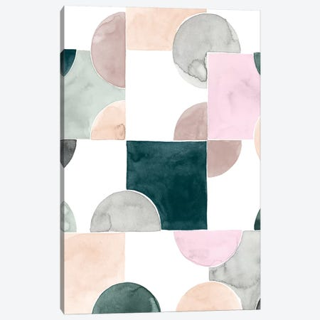 Muted Mystery I Canvas Print #POP1049} by Grace Popp Art Print