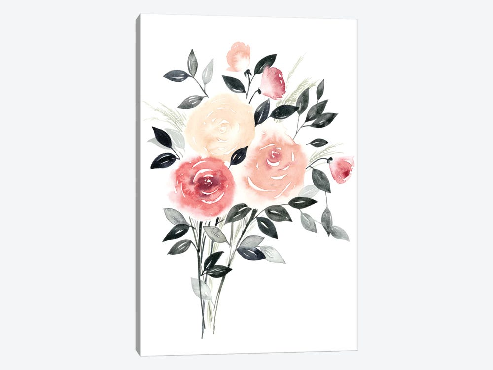 Rosewater II by Grace Popp 1-piece Canvas Print