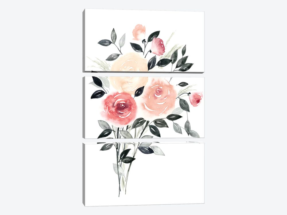 Rosewater II by Grace Popp 3-piece Art Print