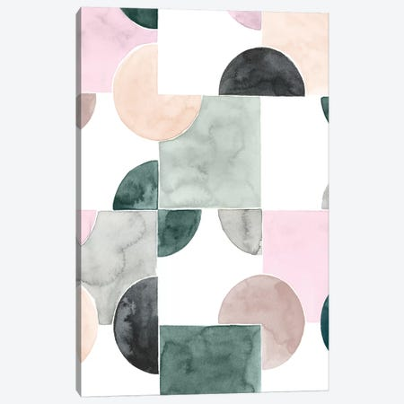 Muted Mystery II Canvas Print #POP1050} by Grace Popp Canvas Artwork