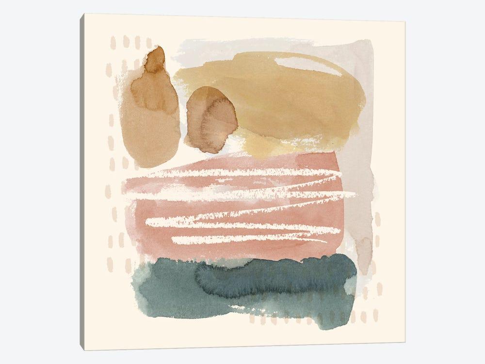 Ochre Echo I by Grace Popp 1-piece Canvas Print