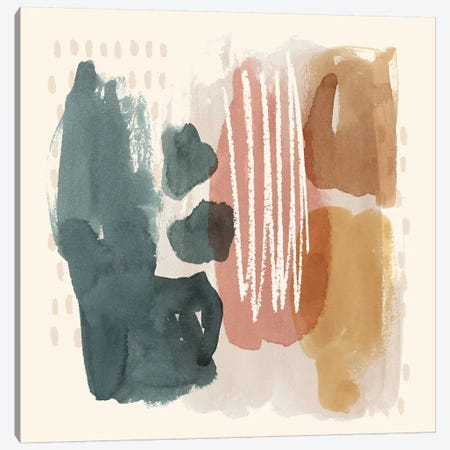 Ochre Echo III Canvas Print #POP1055} by Grace Popp Art Print