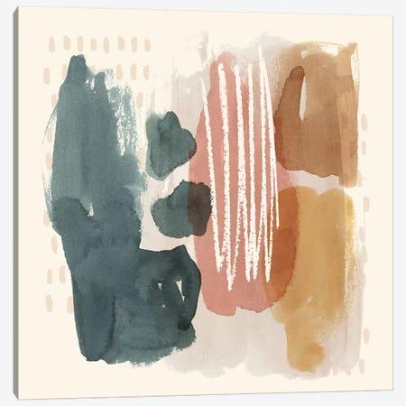 Ochre Echo III Canvas Print #POP1055} by Grace Popp Art Print