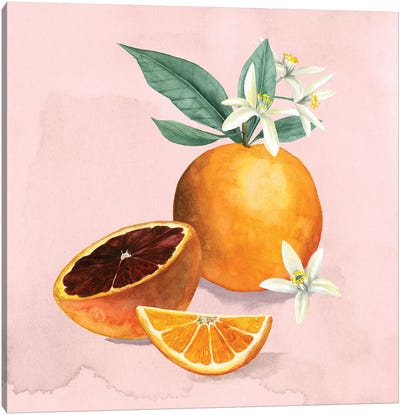 Orange Blossom I Canvas Art Print