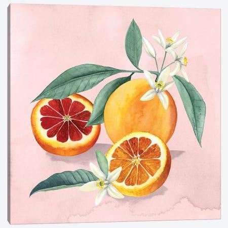 Orange Blossom II Canvas Print #POP1058} by Grace Popp Canvas Artwork