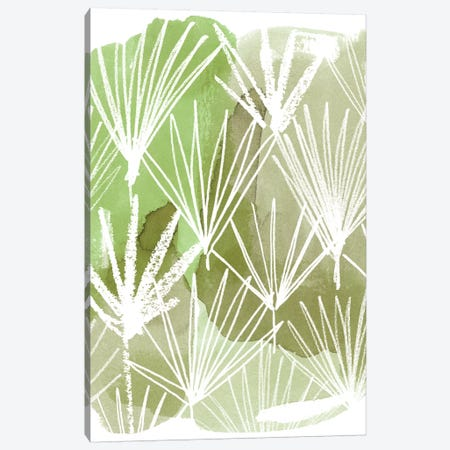 Patch Palms I Canvas Print #POP1063} by Grace Popp Canvas Print