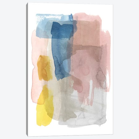 Puddle Pastel I Canvas Print #POP1067} by Grace Popp Canvas Wall Art