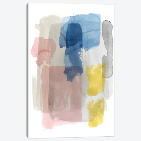Puddle Pastel II Canvas Print #POP1068} by Grace Popp Canvas Print