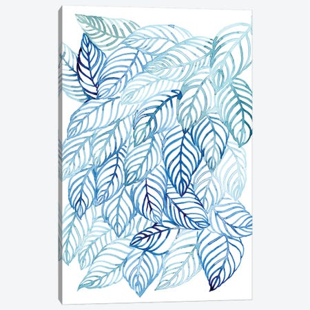 Rainwater Palms I Canvas Print #POP1069} by Grace Popp Art Print