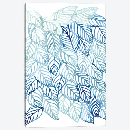Rainwater Palms II Canvas Print #POP1070} by Grace Popp Canvas Artwork