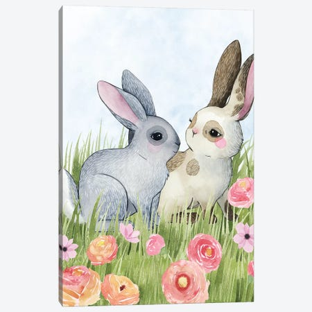Somebunny Love I Canvas Print #POP1077} by Grace Popp Canvas Art Print