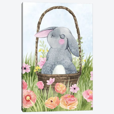 Somebunny Love II Canvas Print #POP1078} by Grace Popp Canvas Wall Art