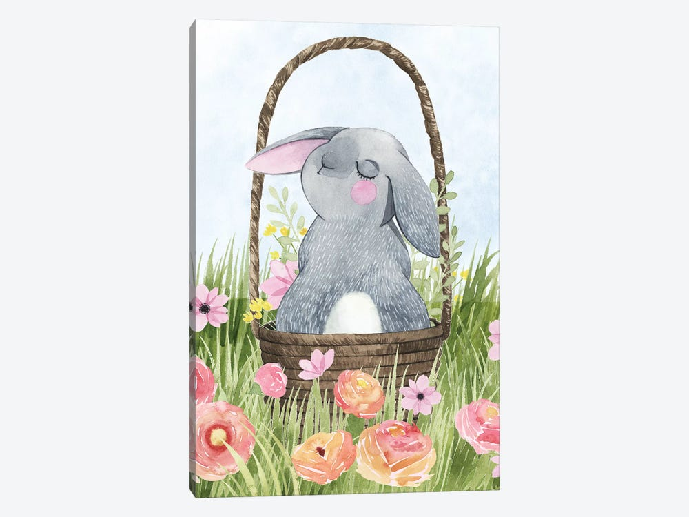 Somebunny Love II by Grace Popp 1-piece Canvas Wall Art