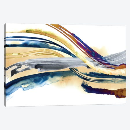 Soundwaves I Canvas Print #POP1079} by Grace Popp Canvas Art