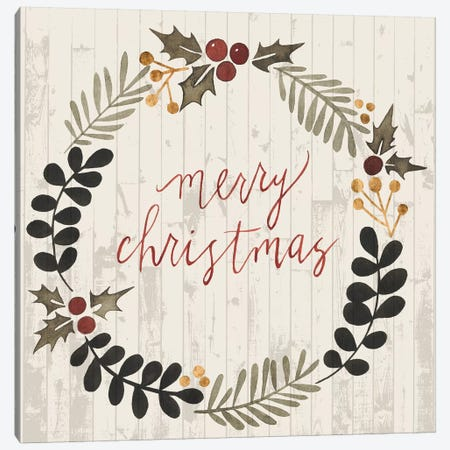 Rustic Christmas III Canvas Print #POP107} by Grace Popp Canvas Art