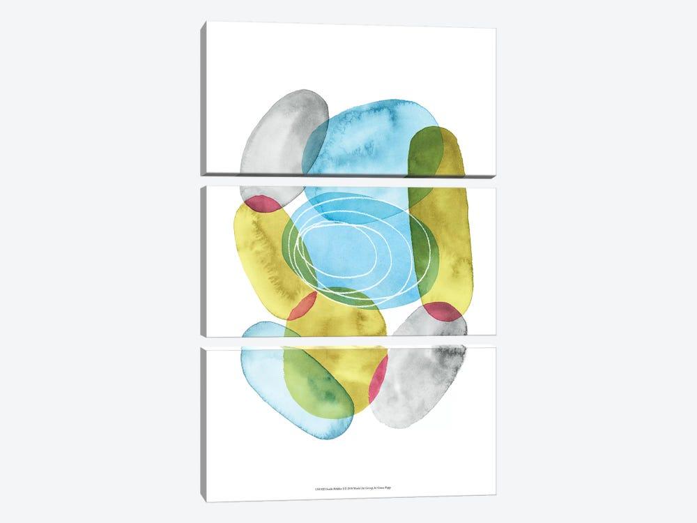 Sunlit Pebbles I by Grace Popp 3-piece Canvas Art