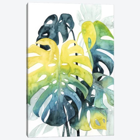 Sunset Palm Composition I Canvas Print #POP1087} by Grace Popp Canvas Artwork