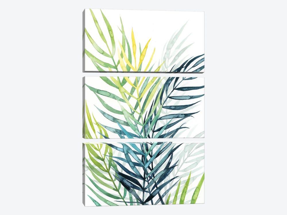 Sunset Palm Composition II by Grace Popp 3-piece Canvas Art Print