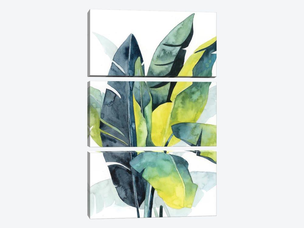 Sunset Palm Composition III by Grace Popp 3-piece Canvas Artwork