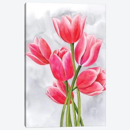 Tulip Tangle I Canvas Print #POP1091} by Grace Popp Canvas Artwork