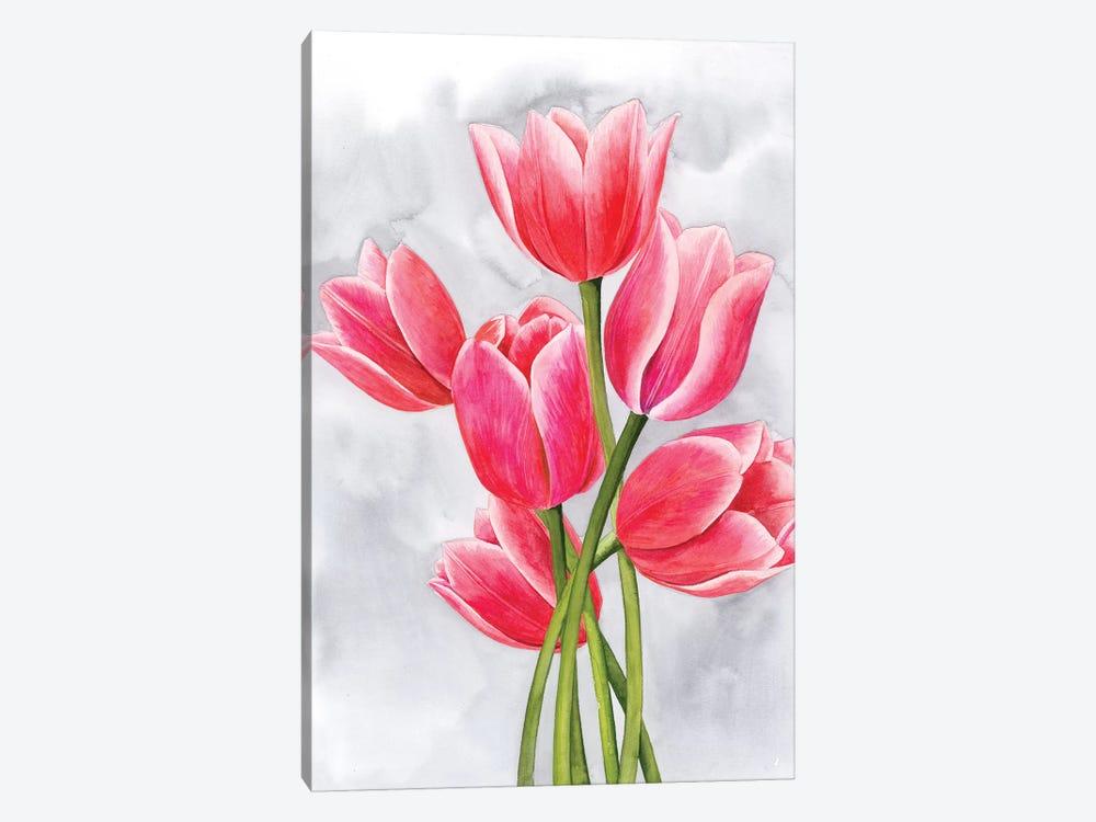 Tulip Tangle I by Grace Popp 1-piece Canvas Art Print