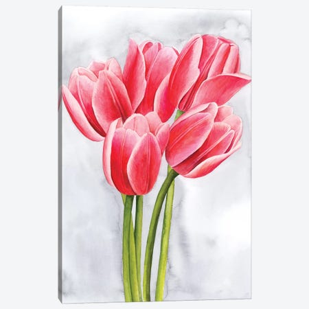 Tulip Tangle II Canvas Print #POP1092} by Grace Popp Canvas Art