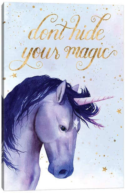 Unicorn Universe II Canvas Art Print