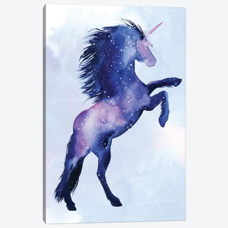 Unicorn Universe III Canvas Print #POP1099} by Grace Popp Canvas Wall Art