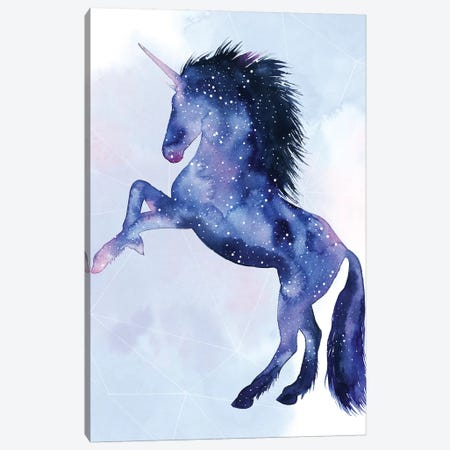 Unicorn Universe IV Canvas Print #POP1100} by Grace Popp Canvas Artwork