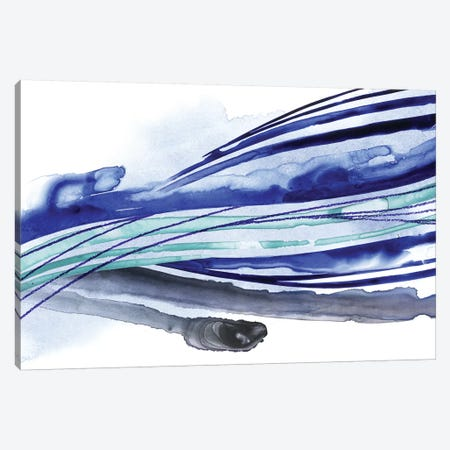 Wave Surge I Canvas Print #POP1107} by Grace Popp Canvas Print
