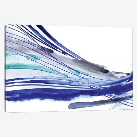 Wave Surge II Canvas Print #POP1108} by Grace Popp Canvas Wall Art