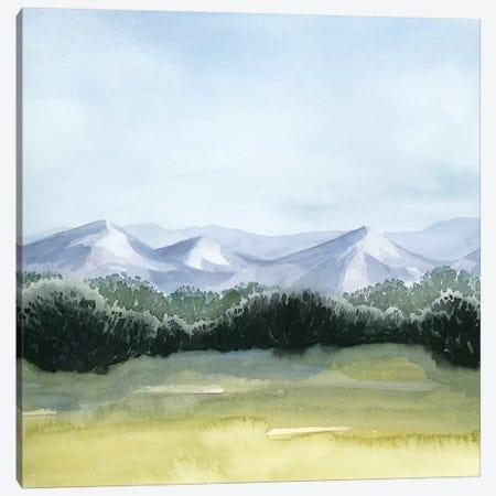 Blue Mountain Break I Canvas Print #POP1115} by Grace Popp Canvas Wall Art