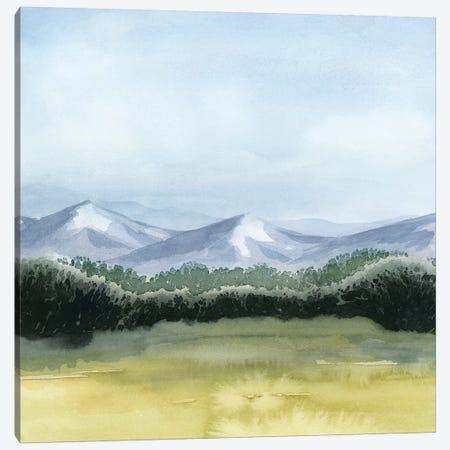Blue Mountain Break II Canvas Print #POP1116} by Grace Popp Canvas Wall Art