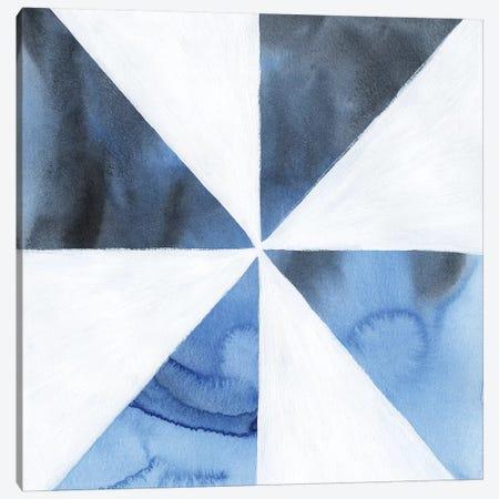 Blue Screen I Canvas Print #POP1117} by Grace Popp Canvas Wall Art